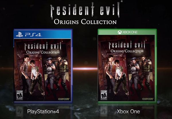 Resident Evil Origins Collection til PS4 og XB1