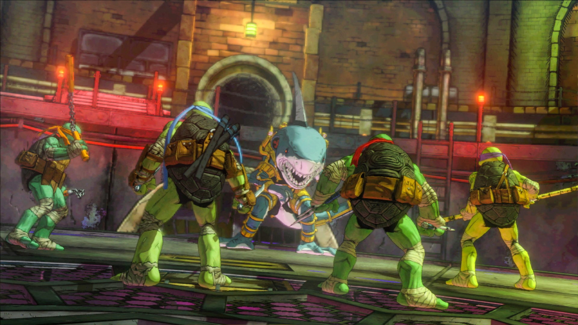 Teenage Mutant Ninja Turtles fra PlatinumGames